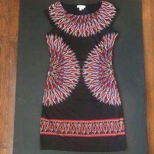 London Times poly spandex dress